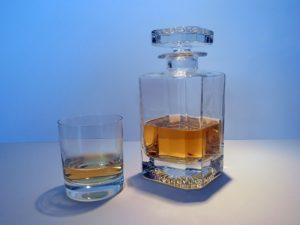 Kristály whisky pohár