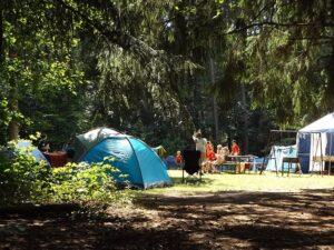 Kellemes táborozás